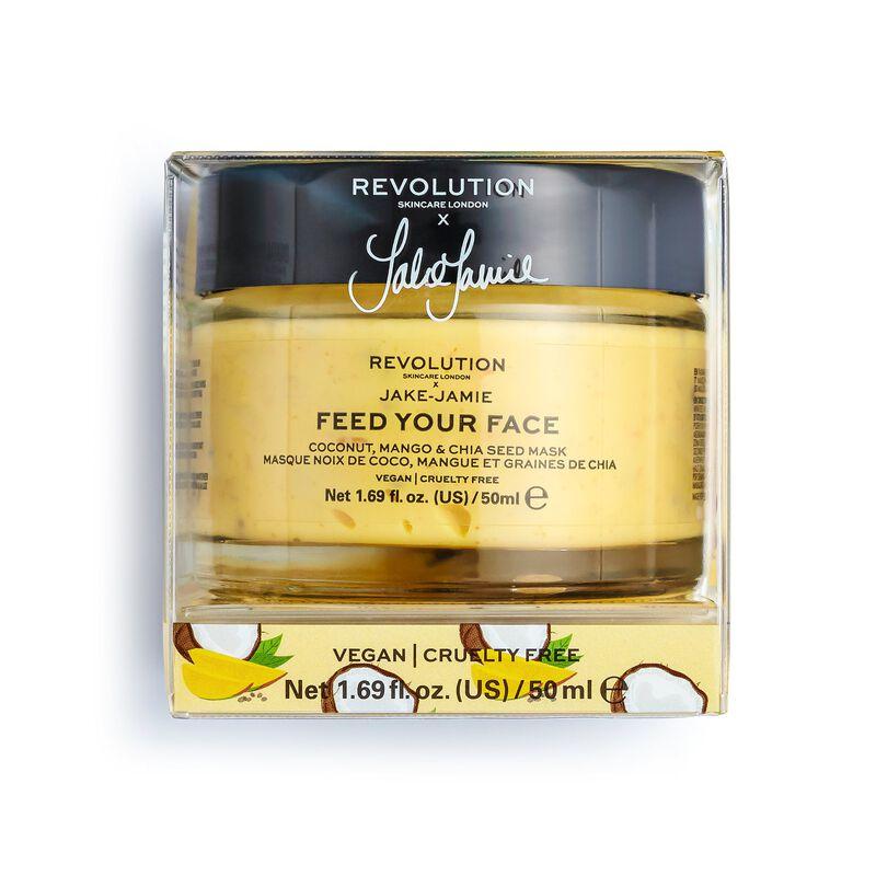 Revolution Skincare X Jake – Jamie Coconut, Mango & Chia Seed Radiant Glow Face Mask