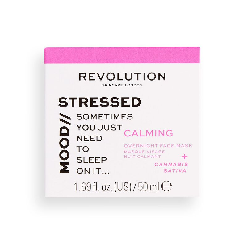 Stressed Mood Calming Overnight Face Mask