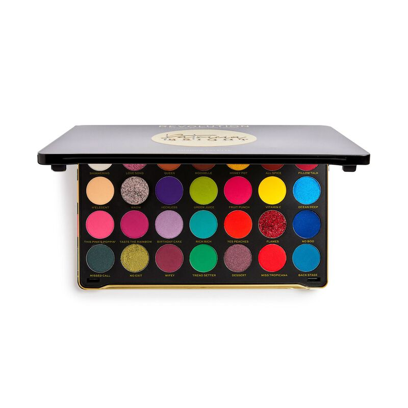 Revolution X Patricia Bright Rich In Eyeshadow Colour Palette