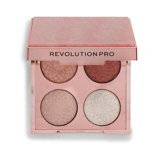 Revolution Pro Eternal Rose Eye Quad Velvet Haze