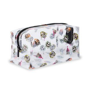 Makeup Revolution Disney Nightmare Before Christmas Makeup Bag Clear
