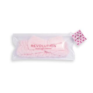 Revolution Skincare Pretty Pink Bow Headband