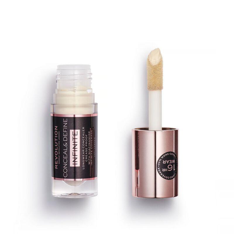 Makeup Revolution Conceal & Define Infinite Longwear Concealer (5ml) C0.05