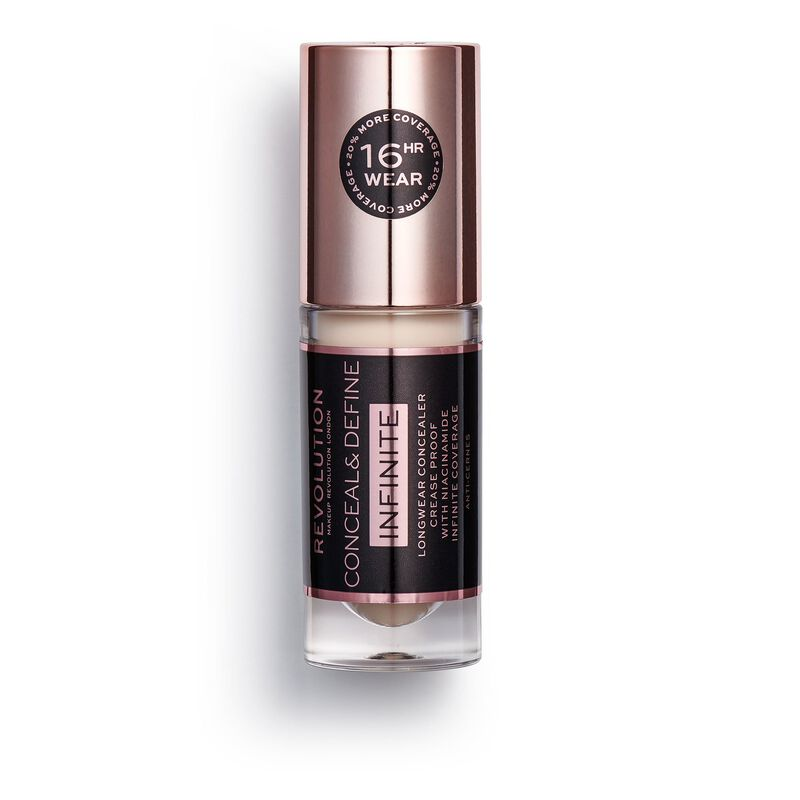 Makeup Revolution Conceal & Define Infinite Longwear Concealer (5ml) C0.3