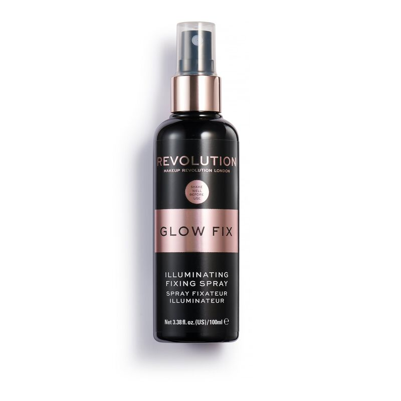 Revolution Glow Fix Illuminating Fixing Spray