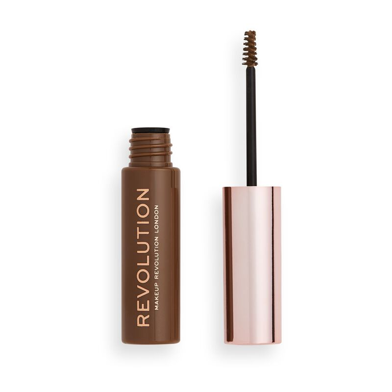 Makeup Revolution Brow Gel Ash Brown