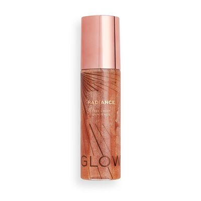 Makeup Revolution Glow Radiance Shimmer Oil Gold