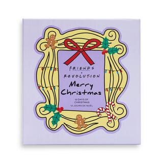 Friends X Makeup Revolution 12 Days of Christmas Advent Calendar