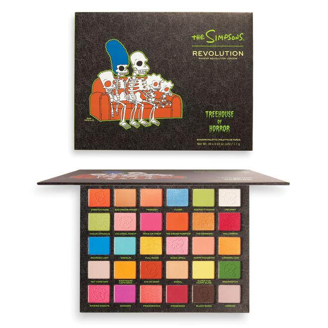 "The Simpsons Makeup Revolution ""Spooktacular"" Eyeshadow Palette"
