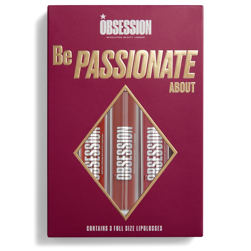 Be Passionate About Lip Gloss Collection
