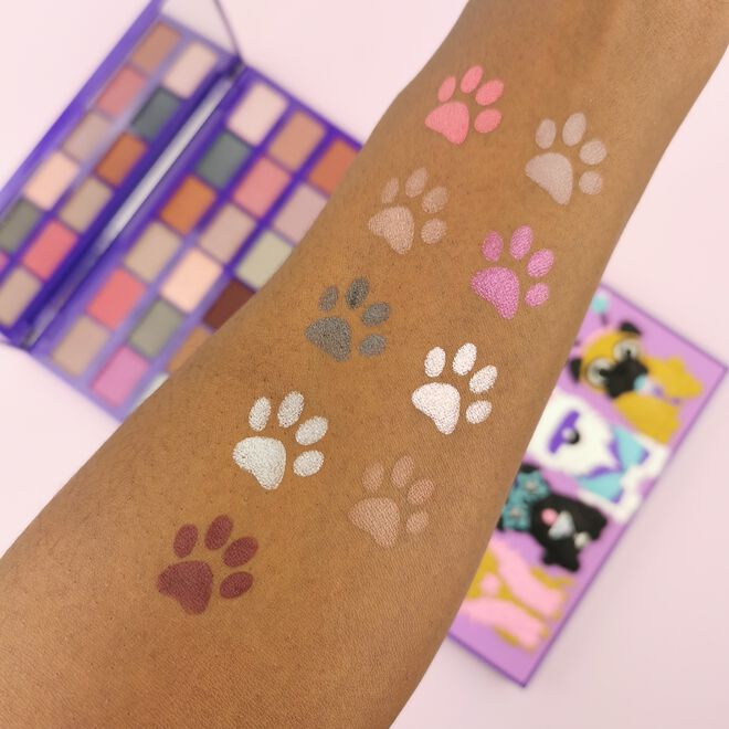 I Heart Revolution Party Pooches Eyeshadow Palette