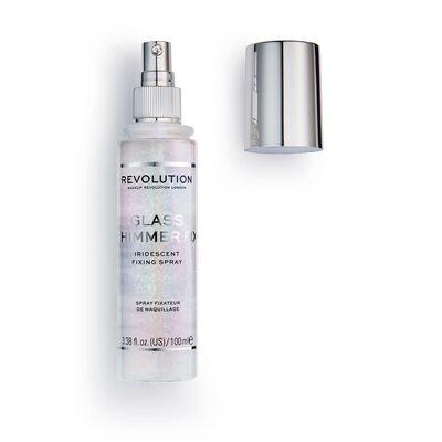 Makeup Revolution Glass Shimmer Fix Setting Spray