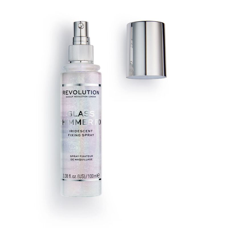 Makeup Revolution Glass Shimmer Fix Setting Spray