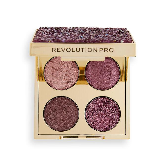Revolution Pro Eyeshadow Palette Quad Pink Topaz