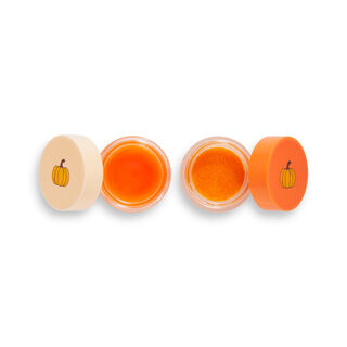 Friends X Makeup Revolution Pumpkin Spice Lip Care Set