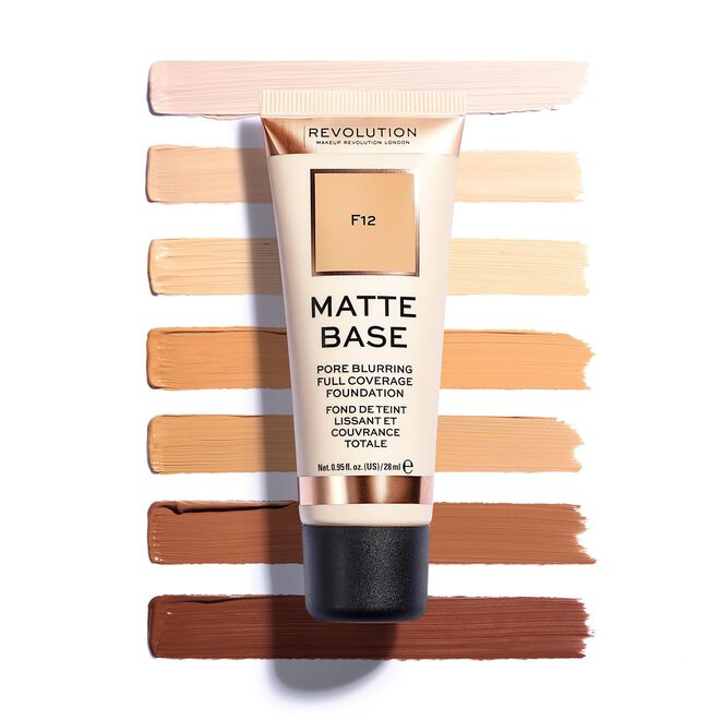 Matte Base Foundation F0.5