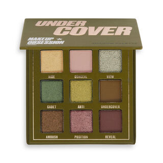 Makeup Obsession Under Cover Eyeshadow Palette