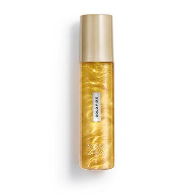 XX Revolution MetaliXX Gold FiXX Setting Spray