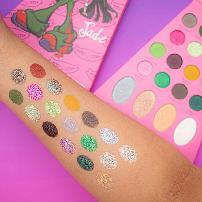 Makeup Revolution x Bratz Doll Eyeshadow Palette Jade