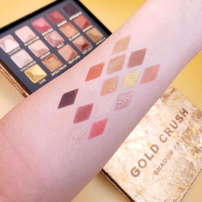 XX Revolution MetaliXX Gold Crush Eyeshadow Palette