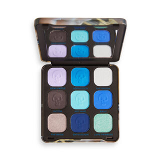 Corpse Bride X Makeup Revolution The Newly Weds Eyeshadow Palette