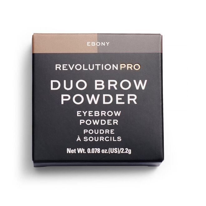Duo Eyebrow Powder Ebony