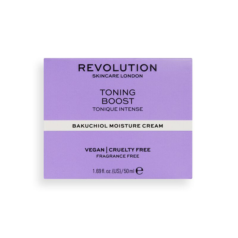Revolution Skincare Toning Boost Moisture Cream with Bakuchiol