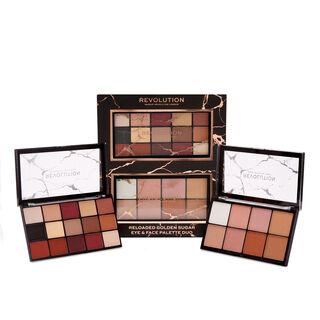 Makeup Revolution Reloaded Golden Sugar Eye & Face Palette Set