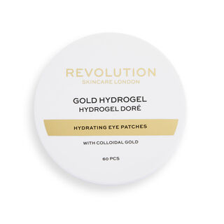 Revolution Skincare Gold Eye Hydrogel Hydrating Eye Patches with Colloidal Gold