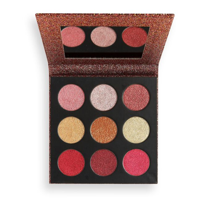 Makeup Revolution Euphoric Foil Eyeshadow Palette House of Fun