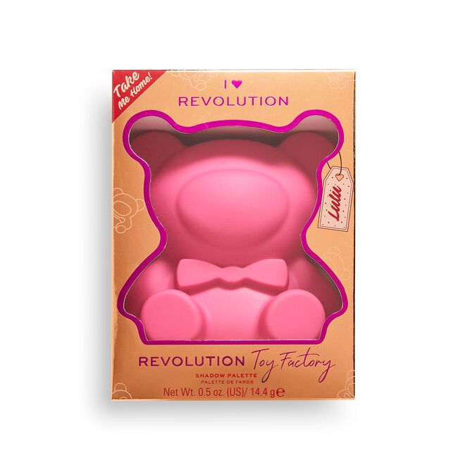 I Heart Revolution Teddy Bear Eyeshadow Palette Lulu