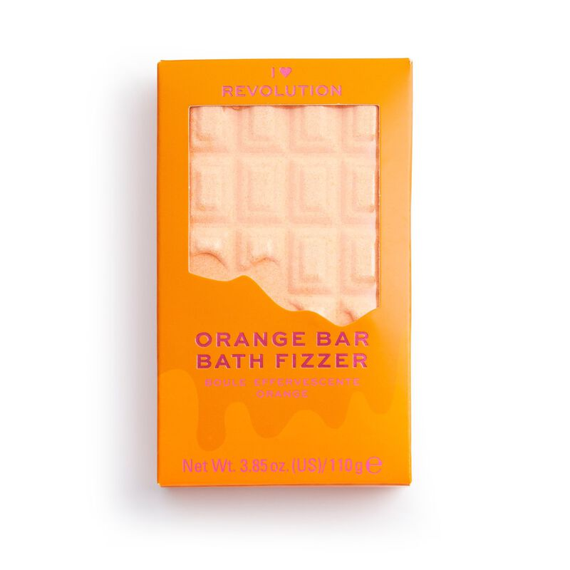 Chocolate Bar Bath Fizzer Orange
