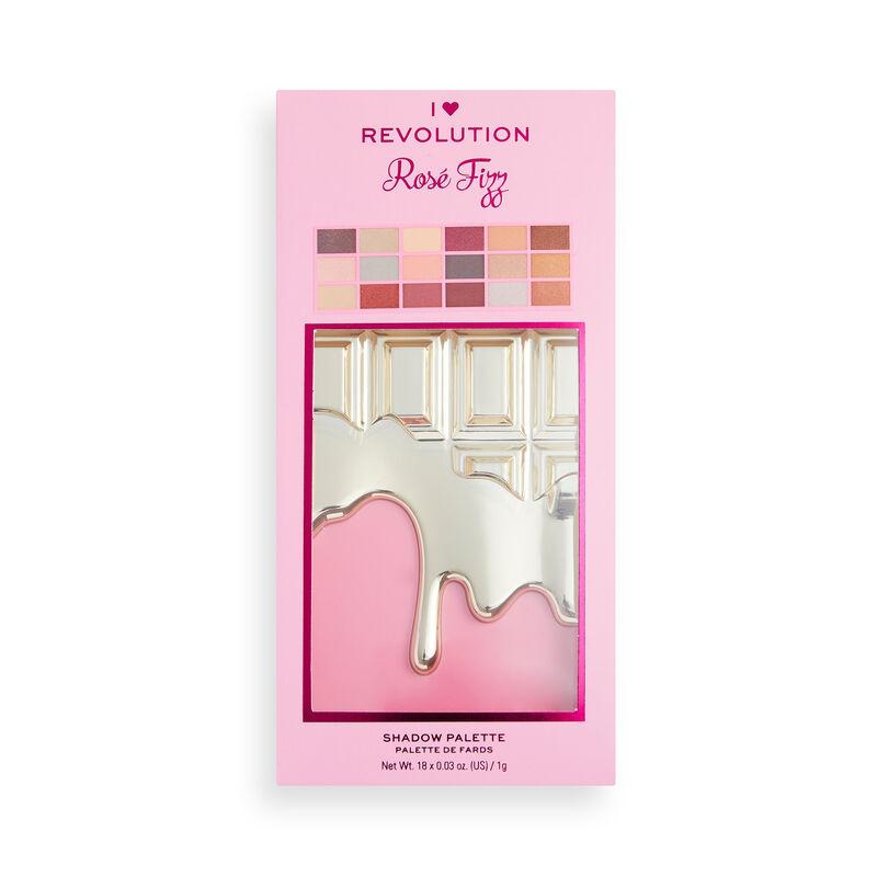 I Heart Revolution Rosé Fizz Chocolate Eyeshadow Palette