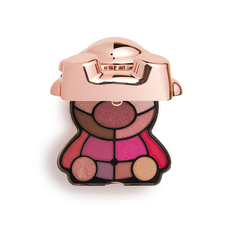 I Heart Revolution Teddy Bear Eyeshadow Palette Rosie