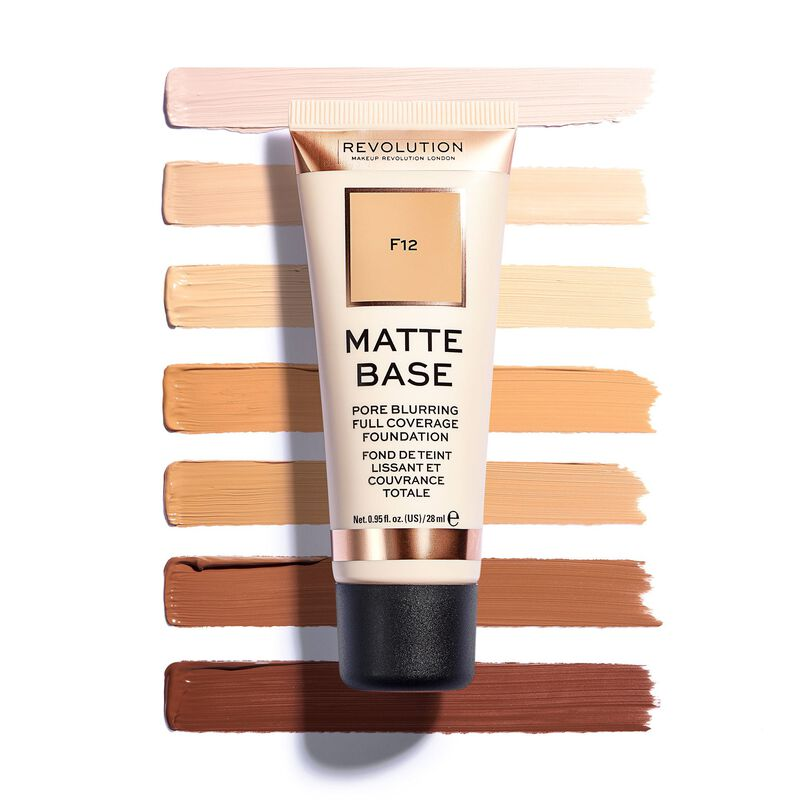 Matte Base Foundation F18