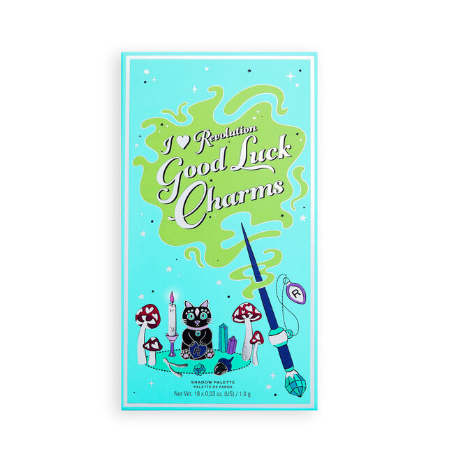 I Heart Revolution Book of Spells Eyeshadow Palette Good Luck Charms