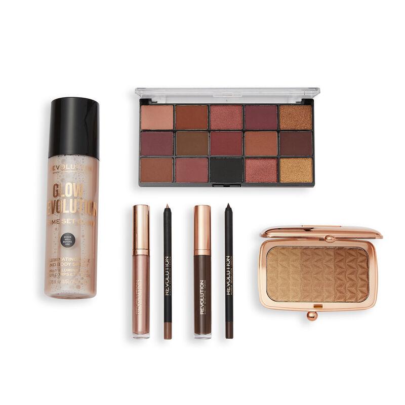 Makeup Revolution Illuminate & Glow Bronze Set