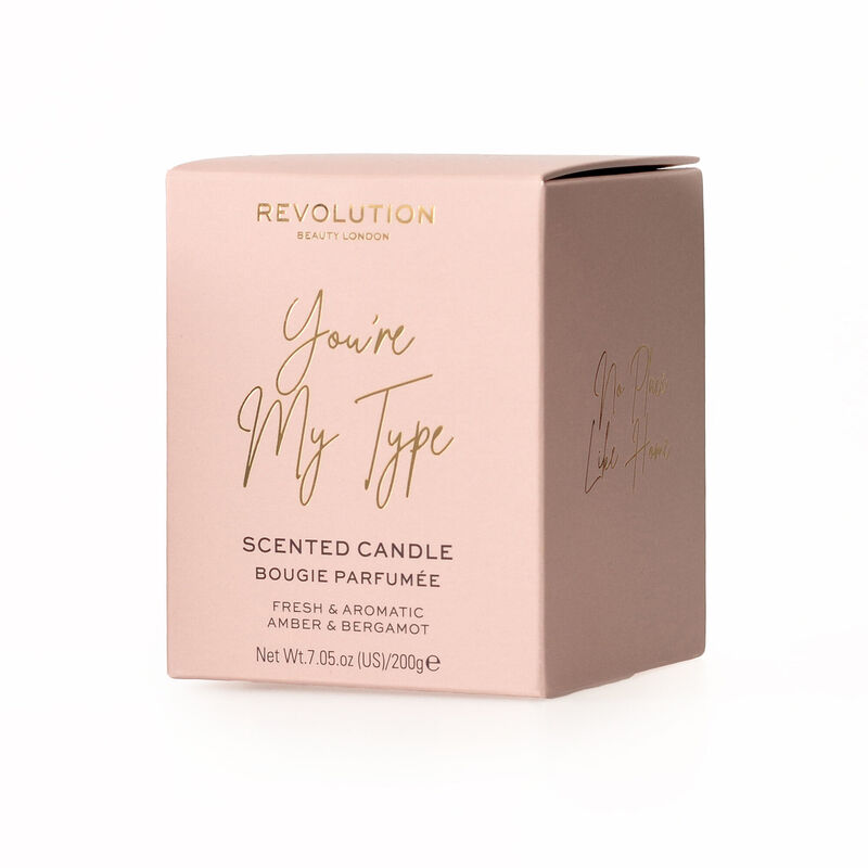 Revolution You Are My Type Scented Candle