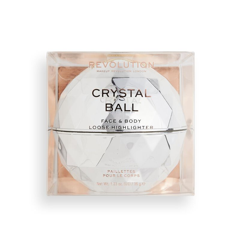 Makeup Revolution Precious Glamour Crystal Ball Loose Body Shimmer