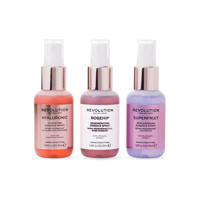 Revolution Skincare Mini Essence Spray Collection: Hello Hydration