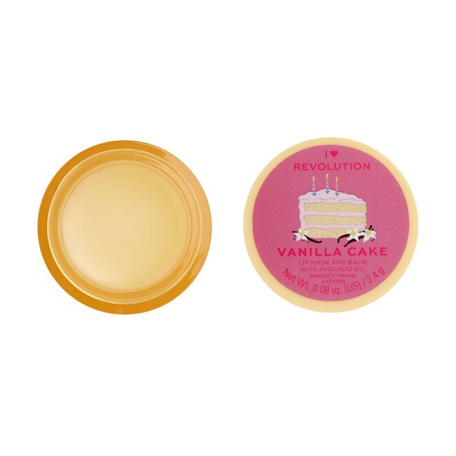 I Heart Revolution Lip Mask & Balm Vanilla Cake