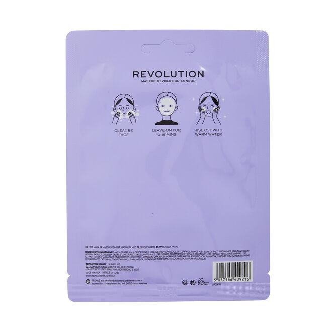 Makeup Revolution X Friends Monica Niacinamide Sheet Mask