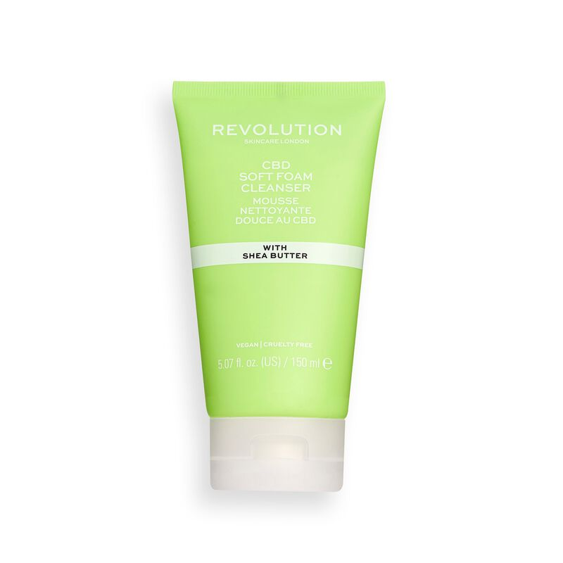 Revolution Skincare CBD Soft Foam Cleanser
