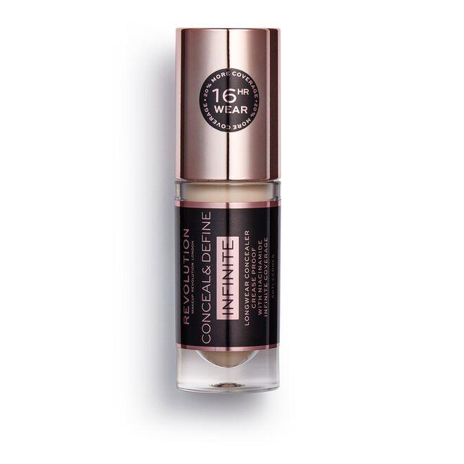 Makeup Revolution Conceal & Define Infinite Longwear Concealer (5ml) C2.5