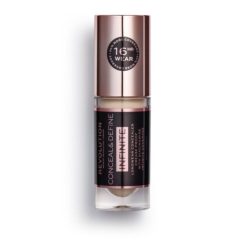 Makeup Revolution Conceal & Define Infinite Longwear Concealer (5ml) C2.5