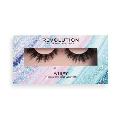 Makeup Revolution 3D Faux Mink Lashes Wispy