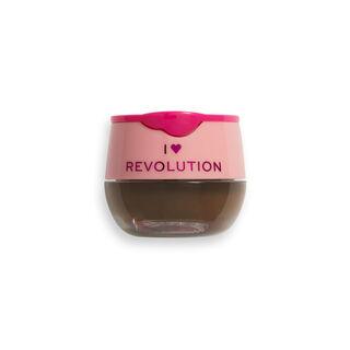 I Heart Revolution Chocolate Brow Pot Dark Chocolate