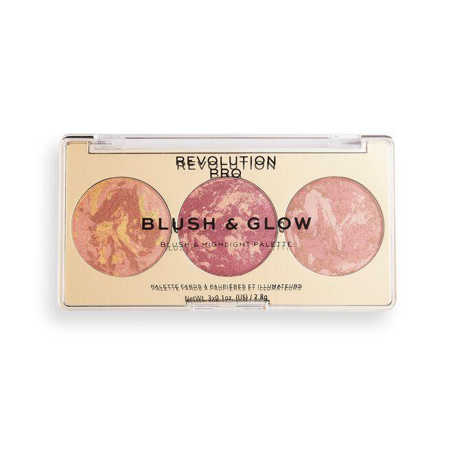 Revolution Pro Blush & Glow Face Palette Cranberry Glow