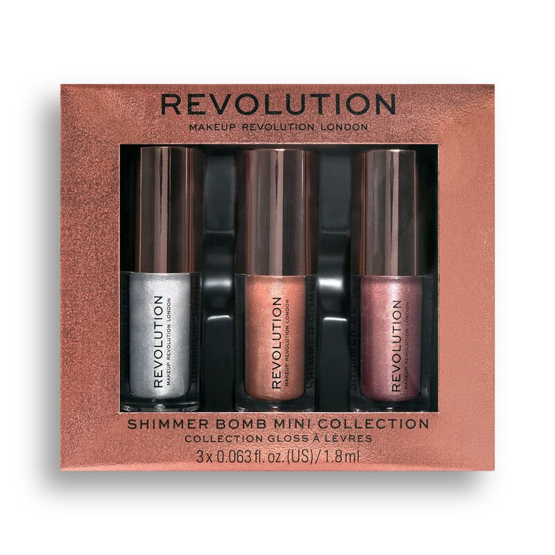 Makeup Revolution Shimmer Bomb Mini Collection