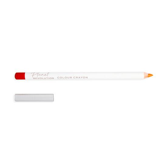 Planet Revolution Multi-Use Colour Crayon Orange